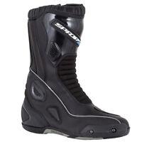 Spada Druid Adventure Touring Waterproof Motorbike Motorcycle Boots Black