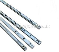 4 Pairs Metal Ball Bearing Drawer runner Pr 214mm draw depth for 17mm