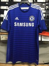 Adidas Chelsea Home Jersey 2014/15 Blue White Retro Classic Size Large Only