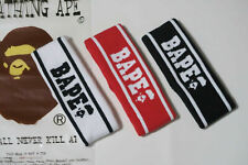 Hot A Bathing Ape Bape Black White&Red Headband Bape Head Band For Men and Women