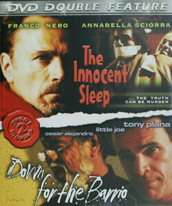 Down For The Barrio + The Innocent Sleep DVD 90's Action thriller Movie DOUBLE