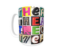 Cup featuring the name in photos of sign letters Details about  /JOSEPH Coffee Mug