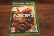 FARCRY 2  + CARTE POSTER   -----  pour XBOX 360  // CLASSICS