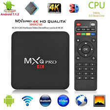 MXQ PRO Android 7.1 S905W Caja de TV Inteligente 4-Core 2G+16G Media Player WiFi