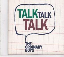 The Ordinary Boys-Talk Talk Talk Promo cd single