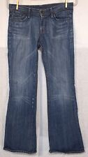CITIZENS OF HUMANITY WOMENS Ingrid #002 low waist flare stretch size 28/32