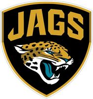 Jacksonville Jaguars NFL Vinyl Decal / Sticker Sizes Free Shipping