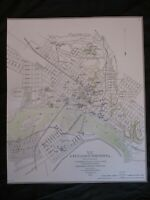 Civil War Map of the City of Richmond, Virginia - SEE MY OTHER RICHMOND MAPS