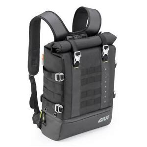 Backpack Technical 25 Lt. Touring Waterproof New Original GIVI GRT711 Black/