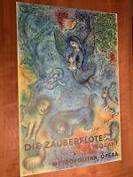 Marc Chagall - Metropolitan Opera - Die Zauberflote / The Magic Flute - 1973