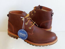 Timberland MEN'S LARCHMONT WATERPROOF CHUKKA BROWN BOOTS SHOES A1HH9 SIZE 9 US