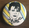 DAVID BOWIE BUTTON BADGE CLASSIC ROCK & POP HUNKY DORY / DIAMOND DOGS 25MM PIN