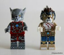 LEGO Chima Minifigures LOT of 2 - Wakz & Longtooth - New, Loose, Never Assembled