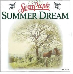 CD album SWEET PEOPLE - SUMMER DREAM - LES OISEAUX CHANTAIENT - NEW AGE