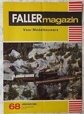 Faller AMS ---  Faller Magazin 68, Januar 1969, Sprache Niederländisch
