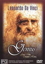 Genius - Leonardo Da Vinci (DVD, 2002)