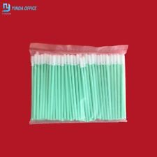 Cleaning Swaps Buds Foam Solvent Sponge Sticks Printhead For Epson Roland 100pcs