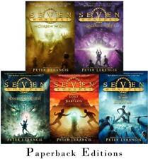 SEVEN WONDERS Children's PAPERBACK Adventure Series by Peter Lerangis Books 1-5