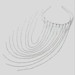 Tassel Headband Hair Hoop Rhinestone Jewelry Bridal Crystal Head Chain Fashion