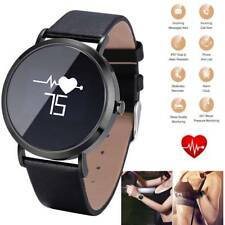 Bluetooth Smart Watch Heart Rate Wristwatch for Samsung S9 S8 S7 S6 LG K30 V40