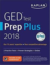 Kaplan GED Test 2018 Strategies, Practice, and Review: Online + Book