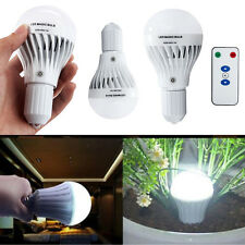 7W E27 LED Rechargeable Emergency Magic Bulb Camping Hunting Light Lamp Bulb
