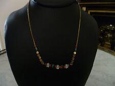 collier plaqué or et nacre SATELLITE neuf avec étiquette