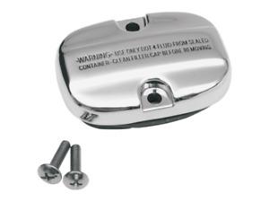 Drag Specialties Chrome Rear Master Cylinder Cover 08-19 Harley FLT FLHR FLTR
