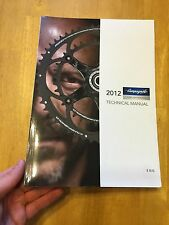 2012 Campagnolo Technical Manual Mechanic / Dealer Tech Book 256 Pages Campy