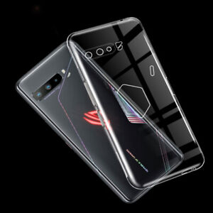 Shockproof Slim Silicone Case Soft TPU Cover Skin For Asus ROG Phone 3 ZS661KL
