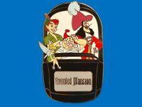 Fantasy Pin - Disney Haunted Mansion Doombuggy - Peter Pan Hook Tink Smee LE 50