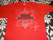 Anaal Nathrakh Old Official Shirt Large Black Metal Aborted