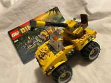Lego Dino Raptor Chase (5884) Truck Only Instructions Included Used