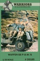 Warriors 1:35 Waffen SS P.O.W 3 Resin Figures Kit #35185
