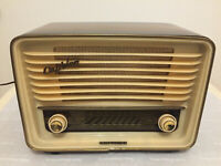 Röhrenradio Telefunken Caprice 8 GERMAN TUBE RADIO MADE IN GERMANY