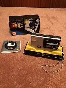Vintage Kodak Disc 4000 Camera & Strap Boxed & Instructions