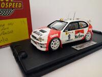 DECALS 1//43 REF 0164 TOYOTA COROLLA WRC AURIOL TOUR DE CORSE 1998 RALLYE RALLY
