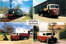 Picture Postcard> BLUEBELL RAILWAY, DELIVERING THE GOODS (MULTIVIEW)