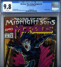 PRIMO:  MORBIUS Living Vampire #1 NM/MT 9.8 HIGHEST CGC CENSUS Marvel movie 07