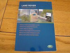 LAND ROVER AUDIO CONNECTIVITY MODULE 2008 AM9H32-18C941-AA