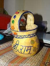 Antique Coco De Mer Tumba Seed Priest Kashkul Hindu Sadhu Kamandal Water Pot