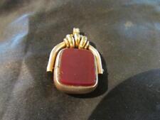 Agate Rose Gold Pendant/Locket Vintage Fine Jewellery