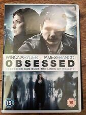 Winona Ryder James Franco OBSESSED ~ 2012 Crazed Stalker Thriller | UK DVD