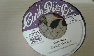 "George Dekker , Foey Man , 7 "" Carib Disco"