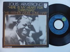 LOUIS ARMSTRONG Here is my heart for Christmas  6073701  Pressage France RRR