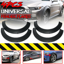 4x 3.5'' Extra Wide Front Rear Fender Flares Wheel Arches For Ford Mustang Focus