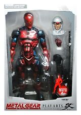 Metal Gear Solid CYBORG NINJA Play Arts Kai Figure Red SDCC EXC LE /500 NEW RARE