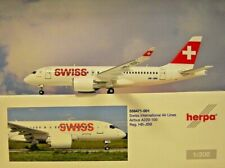 Herpa Wings 1:200 airbus a220-100 swiss HB-JBB 558471-001 modellairport 500