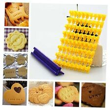 Fondant Cake Alphabet Letter Number Cookies Biscuit Stamp Embosser Mold Cutter S