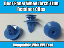 20x Clips For VW Passat Ford Fiesta Blue Door Panel Wheel Arch Trim Retainer